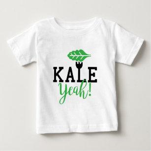 Kale Yeah Funny Vegan Design Baby T-Shirt