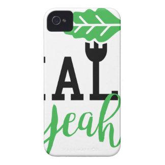 Kale Yeah Funny Vegan Design iPhone 4 Cover