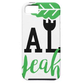 Kale Yeah Funny Vegan Design iPhone SE/5/5s Case