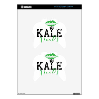 Kale Yeah Funny Vegan Design Xbox 360 Controller Skins