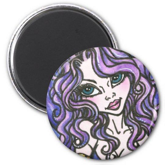 Kalea : Fantasy Mermaid Magnet by Faerydae