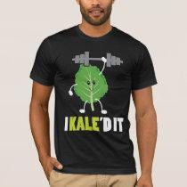 Kaled It - Fitness Vegan Vegetarian Kale Gym T-Shirt