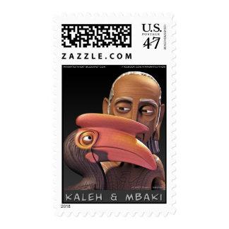 Kaleh & Mbaki Portrait Stamps* Postage