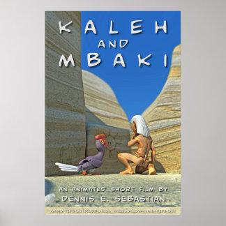 Kaleh & Mbaki Teaser Poster (English)