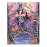 Kalei - Halloween Mermaid Postcard