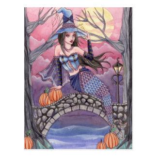 Kalei - postal de la sirena de Halloween