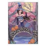 Kalei - tarjeta de la sirena de Halloween
