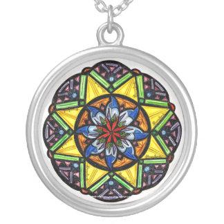 Kaleidasun- Round Necklace