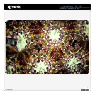 """Kaleidescope Bejeweled 01 - 11"""" piel del aire de M MacBook Air Calcomanía"""