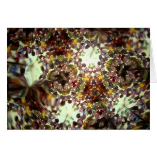 Kaleidescope Bejeweled 01 Tarjeta De Felicitación