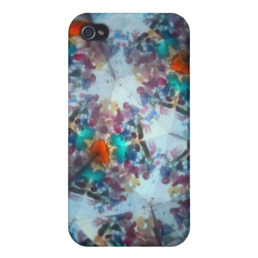 Kaleidescope Bejeweled 18 iPhone 4/4S Carcasas