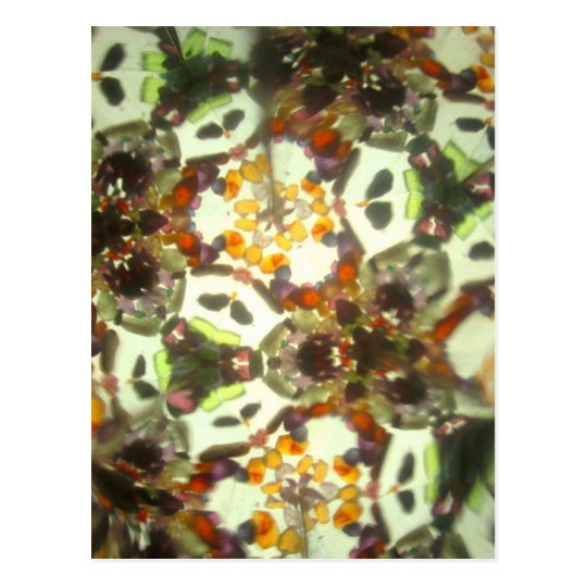 Kaleidescope Bejeweled 26 Tarjeta Postal