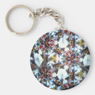 Kaleidescope Bejeweled 40 Llavero Redondo Tipo Pin
