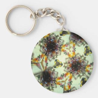 Kaleidescope Bejeweled 47 Llavero Redondo Tipo Pin