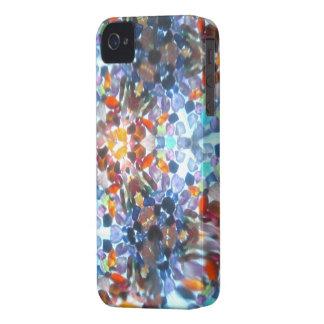 Kaleidescope Bejeweled 52 iPhone 4 Case-Mate Cárcasa
