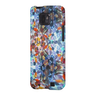 Kaleidescope Bejeweled 52 (personalizado) Samsung Galaxy SII Carcasas