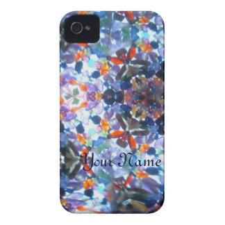 Kaleidescope Bejeweled 53 (personalizado) Case-Mate iPhone 4 Coberturas