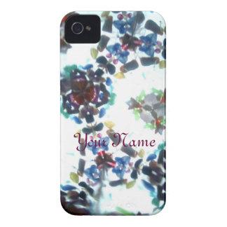 Kaleidescope Bejeweled 55 (personalizado) iPhone 4 Case-Mate Carcasa