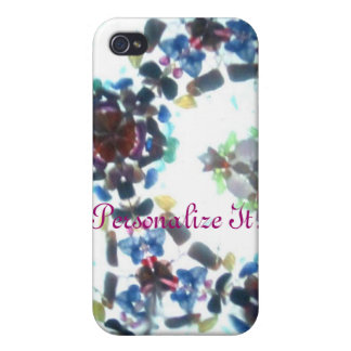 Kaleidescope Bejeweled 55 (personalizado) iPhone 4/4S Funda