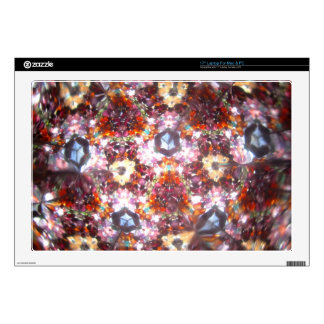 Kaleidescope Bejeweled para abril Calcomanías Para 43,2cm Portátiles