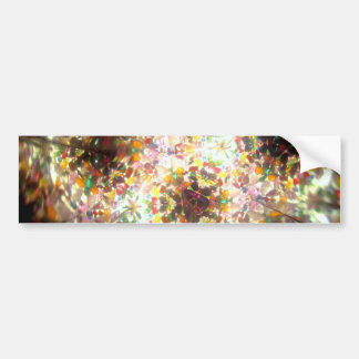 Kaleidescope Bejeweled para enero Pegatina Para Auto