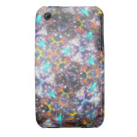 Kaleidescope Bejeweled para julio Case-Mate iPhone 3 Cárcasas
