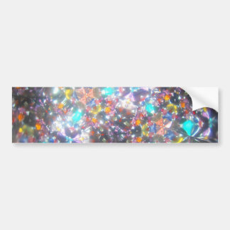 Kaleidescope Bejeweled para julio Pegatina Para Auto