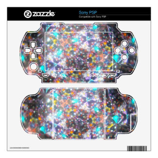 Kaleidescope Bejeweled para la piel de julio Sony  Calcomanías Para El PSP