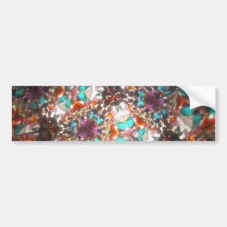 Kaleidescope Bejeweled para mayo Pegatina Para Auto