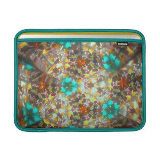 Kaleidescope Bejeweled para noviembre Funda Para Macbook Air