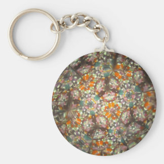 Kaleidescope Bejeweled para octubre Llavero Redondo Tipo Pin