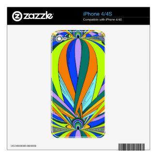 Kaleidescope styled product iPhone 4S skin