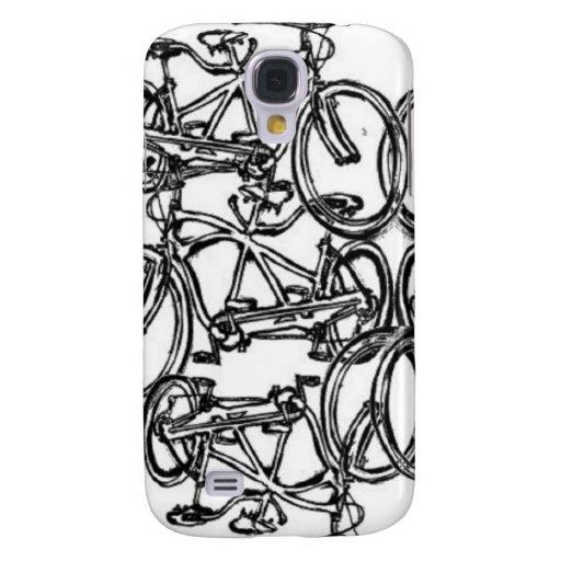 Kaleidescopic Tandem Bicycle (Vintage Schwinn) Samsung Galaxy S4 Cover