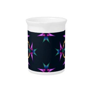 kaleido art soft drink pitcher