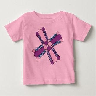 kaleidoflower purple & pink Baby t Baby T-Shirt