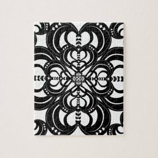 Kaleidoheart Graphic Design Pattern Jigsaw Puzzle