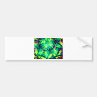kaleidoscope 15 bumper sticker