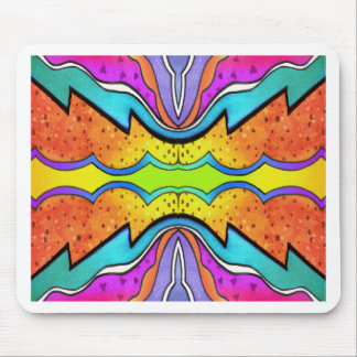 KALEIDOSCOPE 1 MOUSE PAD