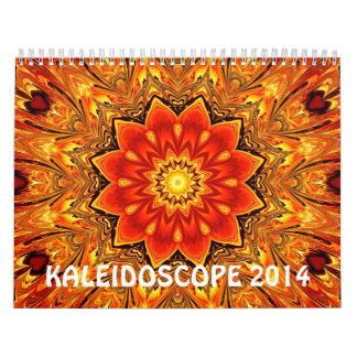 Kaleidoscope 2014 calendar