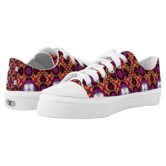 Kaleidoscope 21 printed shoes