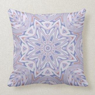 Kaleidoscope 2 (lavender) abstract Pillows mojo_throwpillow