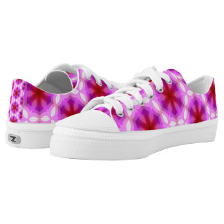 Kaleidoscope 4 printed shoes