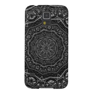 Kaleidoscope 5 black & white geometric pattern cases for galaxy s5