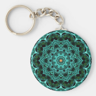 Kaleidoscope 62 basic round button keychain