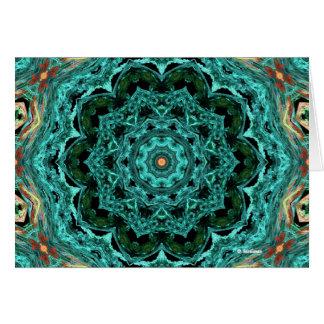 Kaleidoscope 62 greeting card