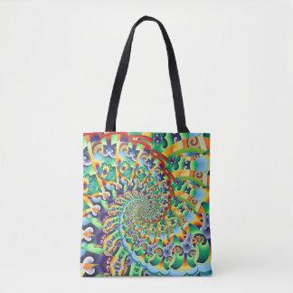 Kaleidoscope 66 tote bag