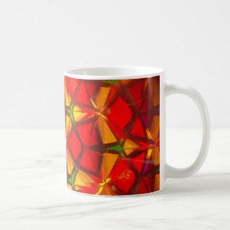 kaleidoscope, abstract mug