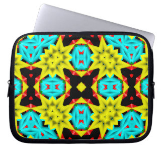 Kaleidoscope Abstract Multicolored Pattern Computer Sleeve