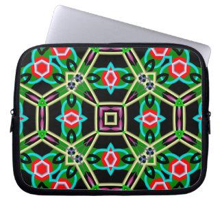 Kaleidoscope Abstract Multicolored Pattern Laptop Sleeve