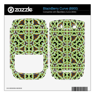 Kaleidoscope Abstract Multicolored Pattern Decals For BlackBerry